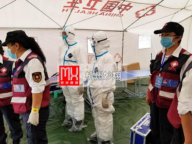 2019年古城区卫生健康系统地震卫生演练